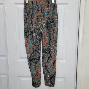 TOBI Women's Boho Paisley Casual Pant XS